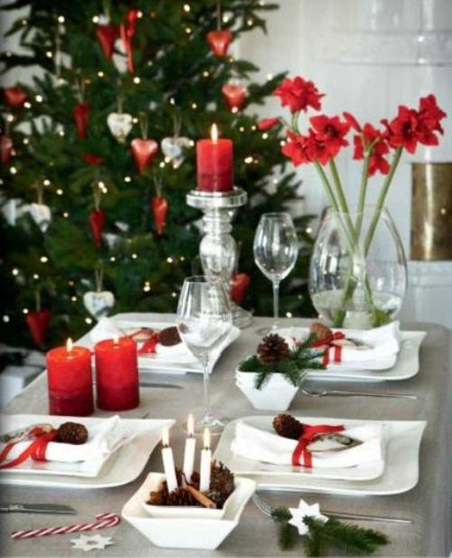 33 Elegant Christmas Table Settings Youll Love Interior God