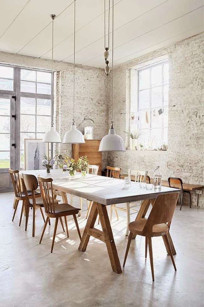 31 Impressive Dining Rooms With Brick Walls Ideas