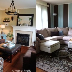 Christmas Decorating Ideas For The Kitchen Cleaning Commercial 15 Brown And Blue Living Room Design To Try ...