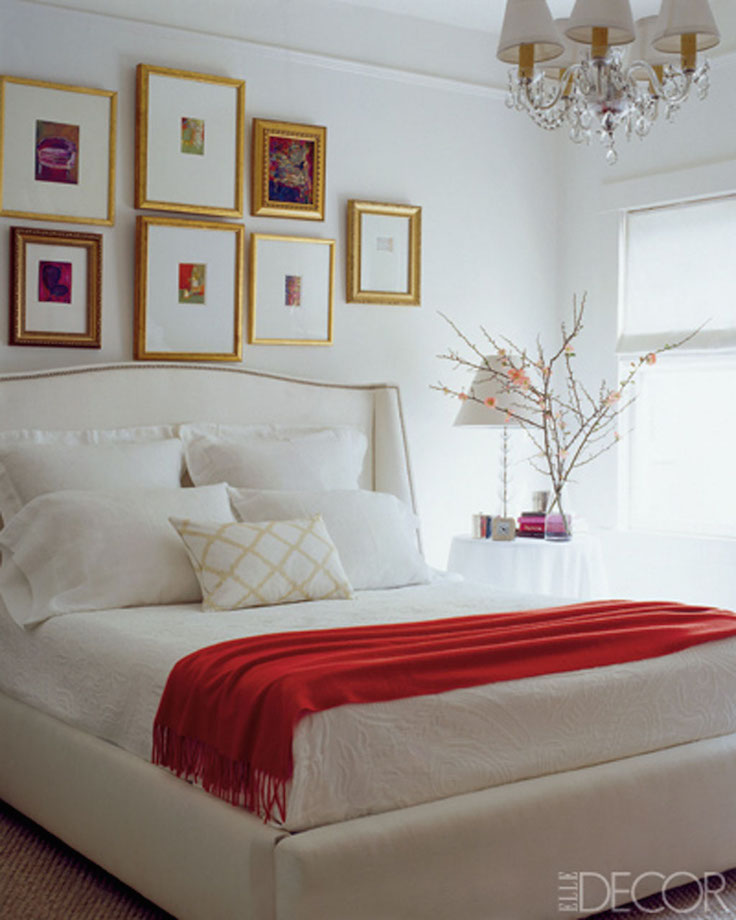 17 Elegant BlackWhite And Red Bedroom Design Ideas