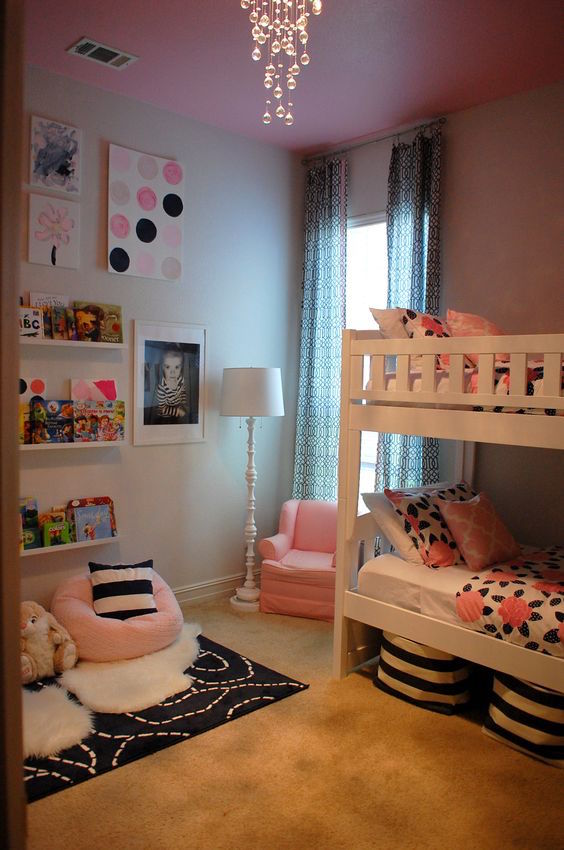 20 Impressive Girls Shared Bedrooms To Get Inspired Interior God