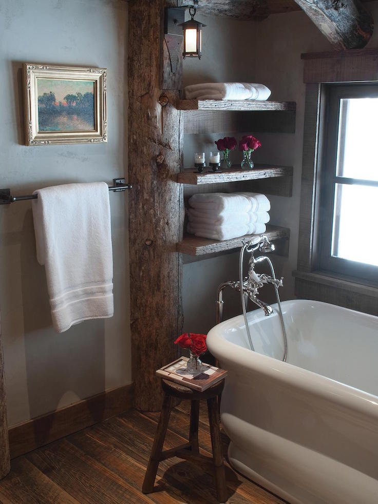 31 Amazing Bathroom With Exposed Wood Beams  Interior God