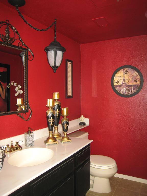 21 Red Bathroom Design Ideas To Try  Interior God