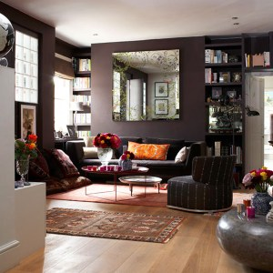 dark living stylish rooms colors sitting colour decorating decor colours walls bedroom interiorholic brown colourful colored idea purple grey inspiration