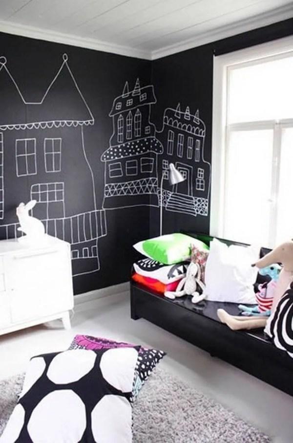 Kids Room Chalkboard Wall Paint