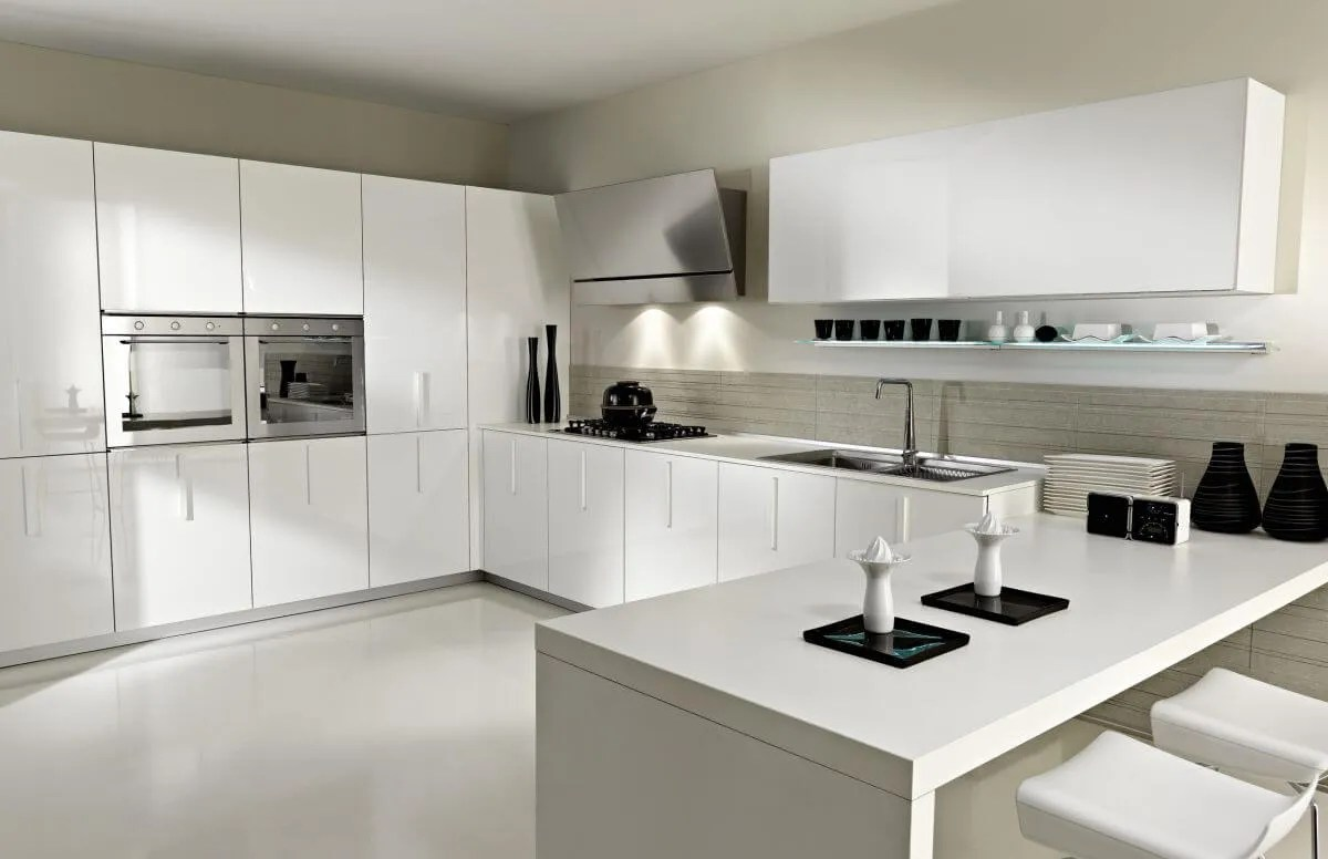 15 Serene White Kitchen Interior Design Ideas  Https
