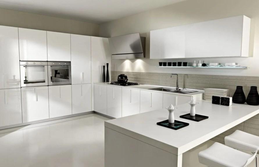 15 Serene White Kitchen Interior Design Ideas - https ...