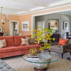 Pink Salon Chairs Plush Baby Rocking Chair 10 Beautiful Coral Peach Interior Design Ideas - Idea