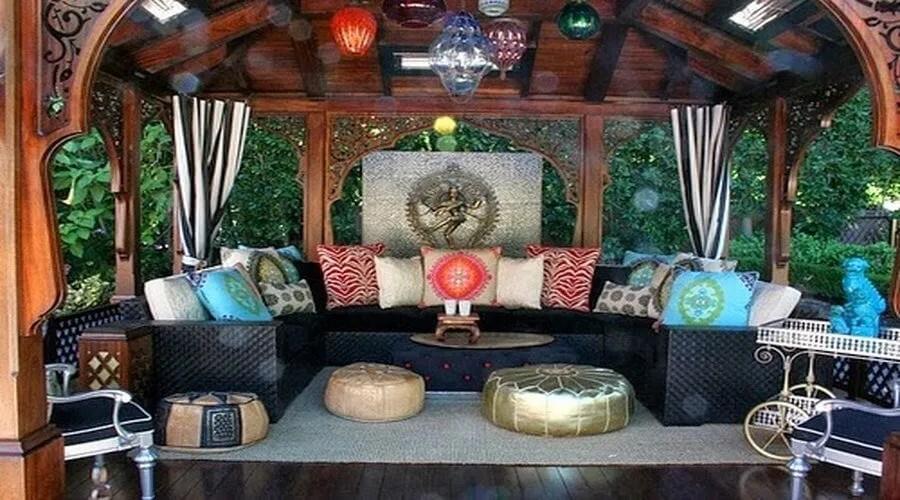 10 Charming Bohemian Patio Design Ideas  Interior Idea