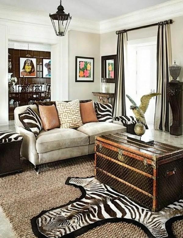 Make Rooms Fierce And Wild Zebra Print