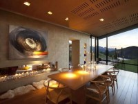 8 Cozy and Modern Dining Rooms with Fireplace - https ...
