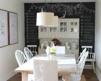 10 Cool Dining Room Designs With a Chalkboard Wall - https ...