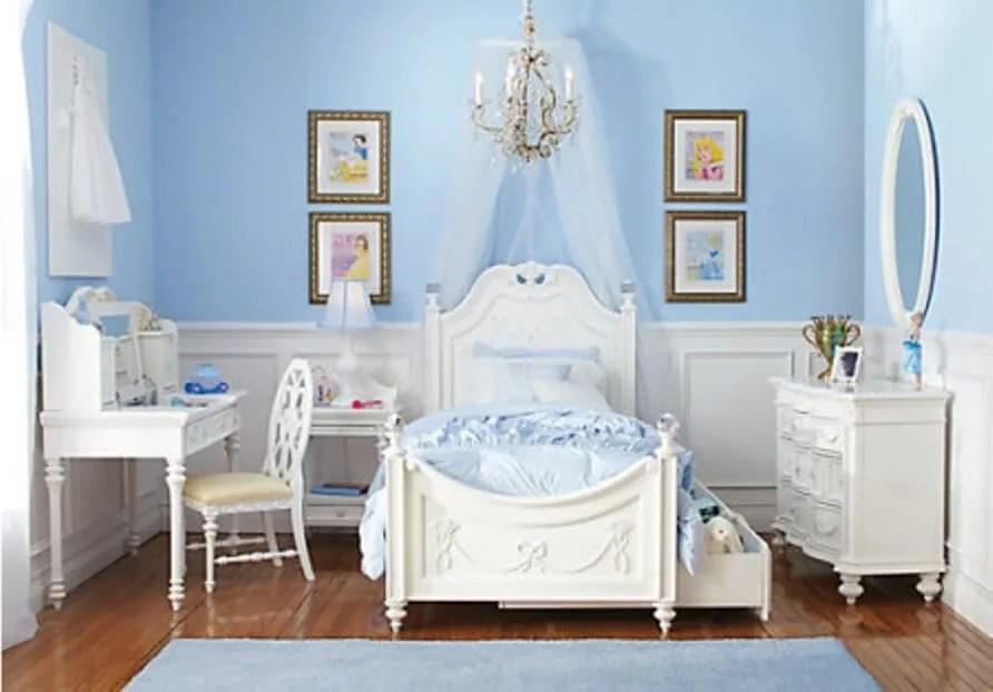 10 Princess Themed Girls Bedroom Design Ideas  https