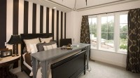 9 Bedroom Design Ideas with Striped Walls - https ...