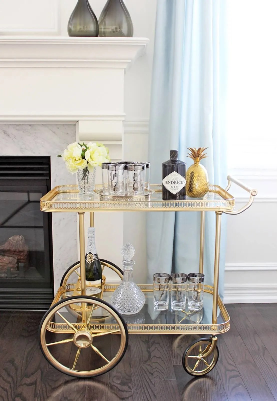 8 Fabulous Bar Carts Design For Classy Touch Https