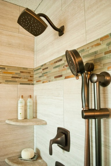 After: Shower gets splashy upgrades