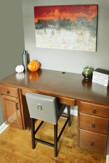After: Kitchen Nook Desk
