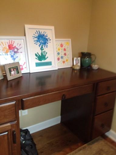 Before: Kitchen Nook Desk