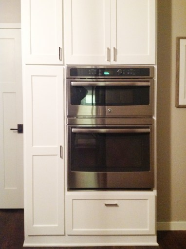After: Oven Cabinet