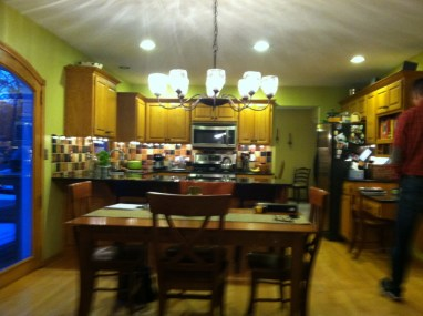 Before: A Colorful Kitchen gets some restraint