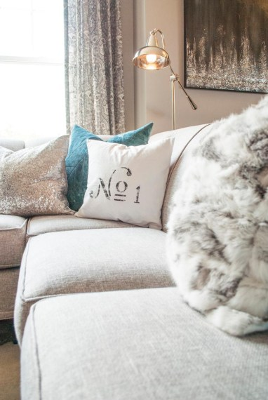 After: Luxury Throw Pillows