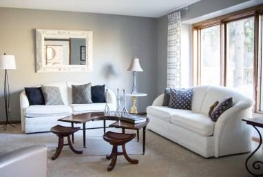 After - Overview; Formal Living Room