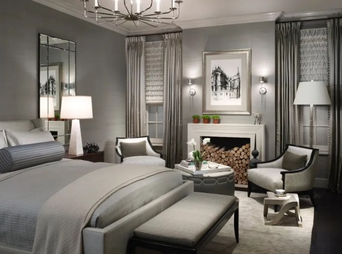 how to make your bedroom look like a swanky hotel room