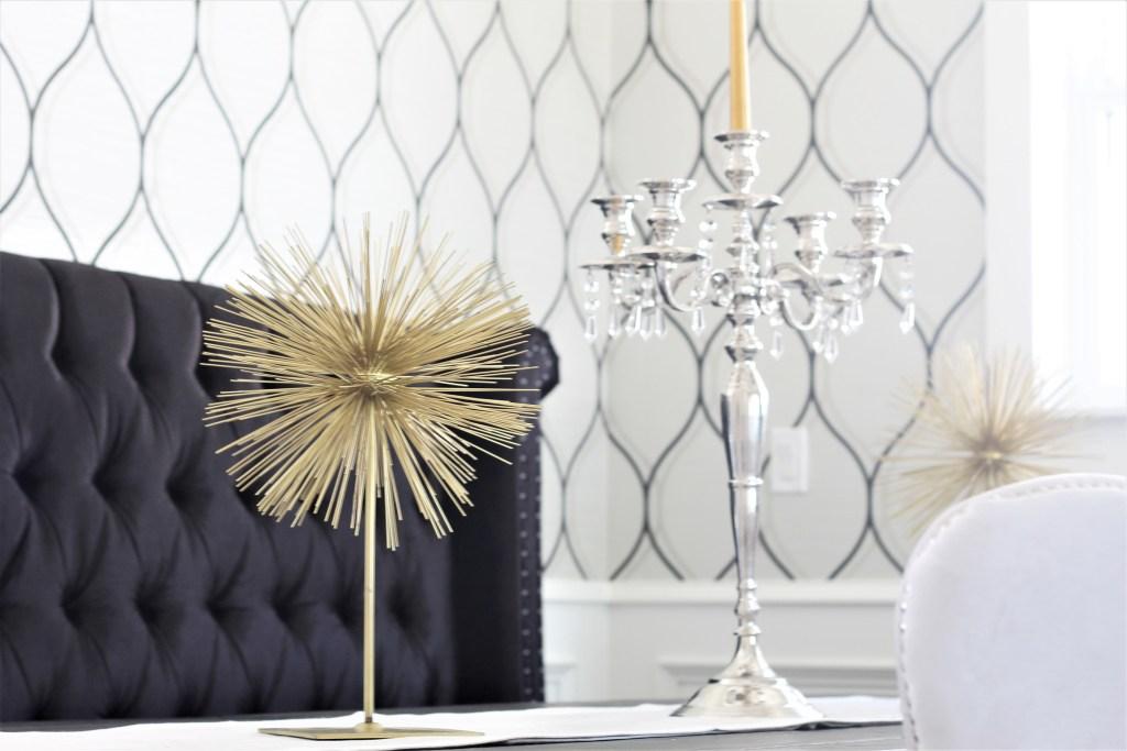 interiorloveaffair.com glam dining room