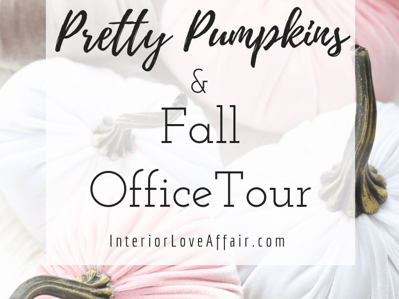 Pretty Pumpkins, Fall Decor