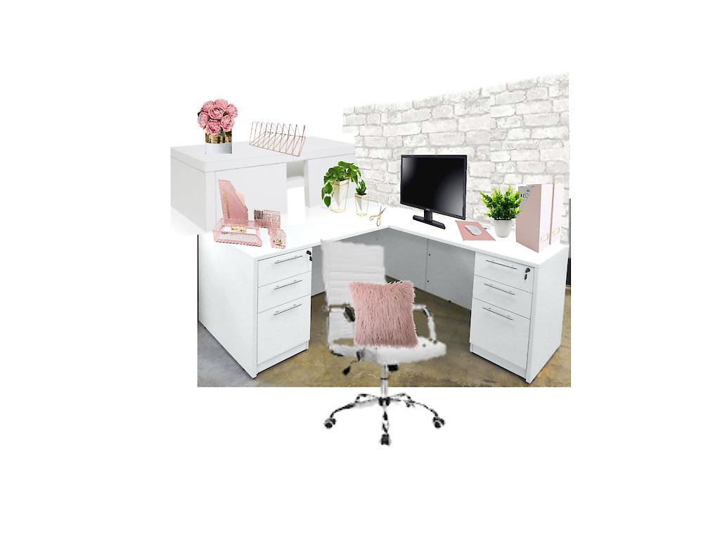 work desk makeover