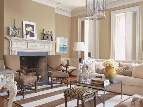Veranda Magazine_linen living room  Interiorly