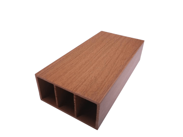 100x50 Decorative Timber Look Tube Teak