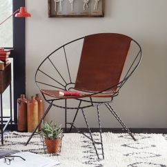 Metal Tub Chairs Antique Ladder Back With Arms Design Lovin