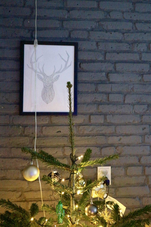 minimaltisch kerstfeest Kerst posters printcandy