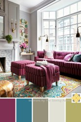 room palettes bright sewing plum living palette turquoise interiors teal colors taupe grey paint yellow inspiring ways