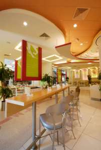 Modern Interiors Cafe InteriorSense Commercial Design Consultant Bude Cornwall