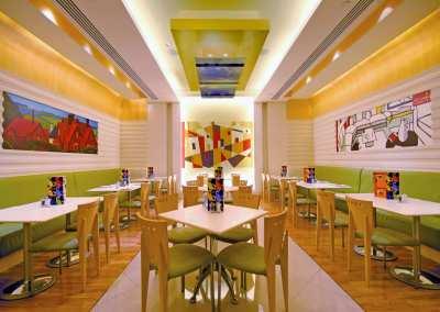 Art Inspired Cafe Interiors
