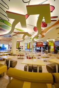 Gourmet Salad and Sandwich Cafe Interiors - InteriorSense