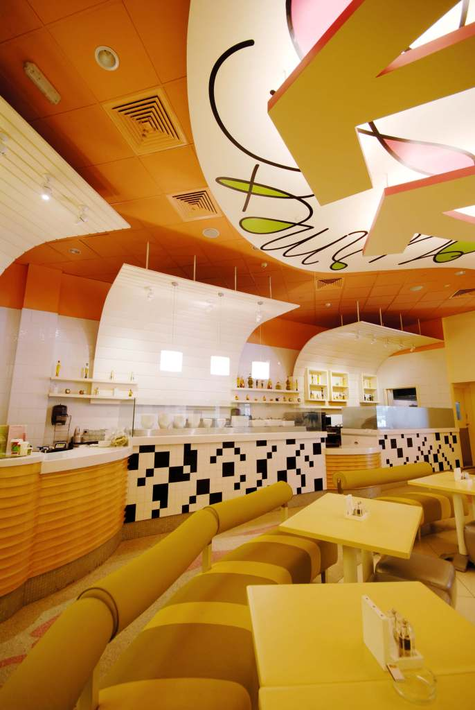 Modern Salad Bar Interiors Commercial Interior Design Project By InteriorSense Bude Cornwall UK