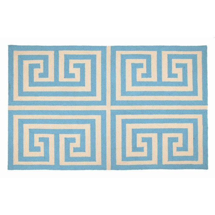 Trina Turk Greek Key Hook Rug