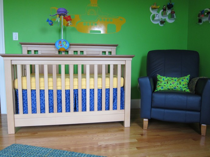Quinlan's Nursery - Crib and Glider