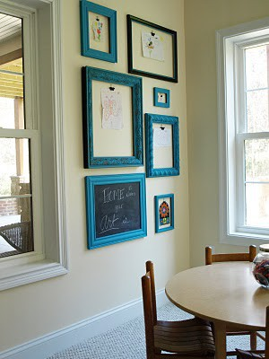 Turquoise Kids Art Gallery