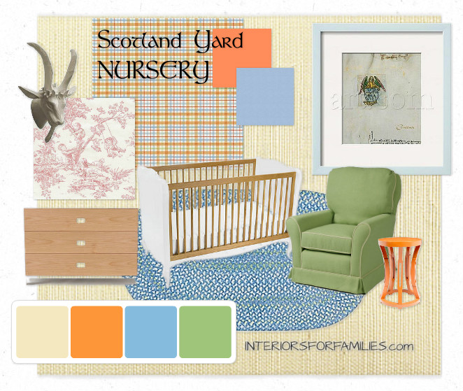 Scotland Yard Nursery Theme
