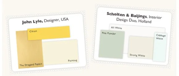 Farrow & Ball - British Color Scheme