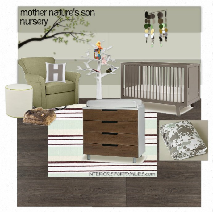 Mother Nature's Son Nursery Theme