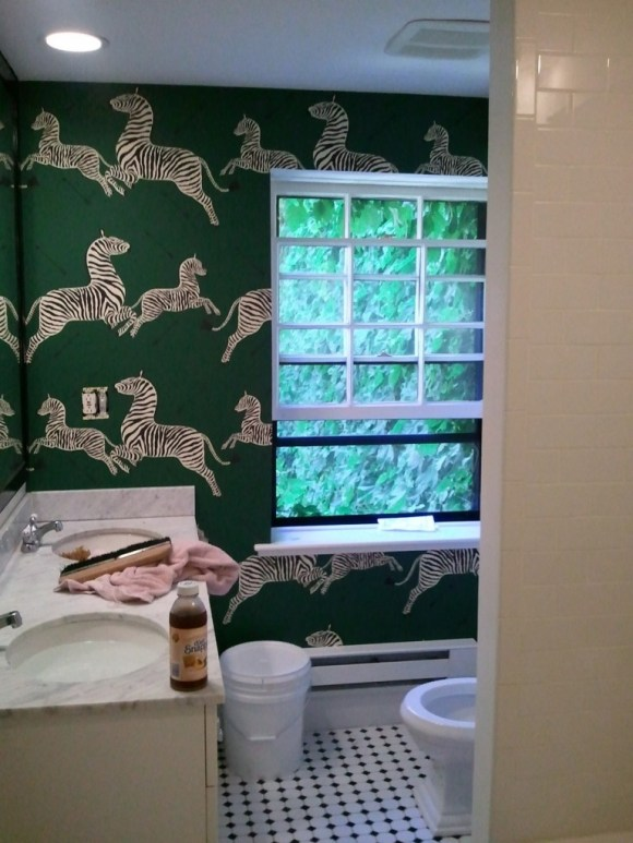 Erin Gates WIP Powder Room