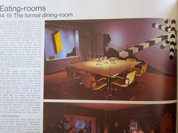 1970s Formal Dining Room