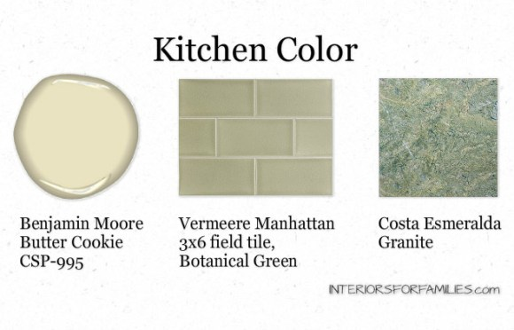 Kitchen Color Scheme - IFF