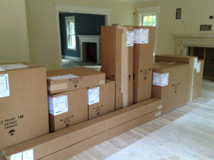 Boxes of Cabinetry
