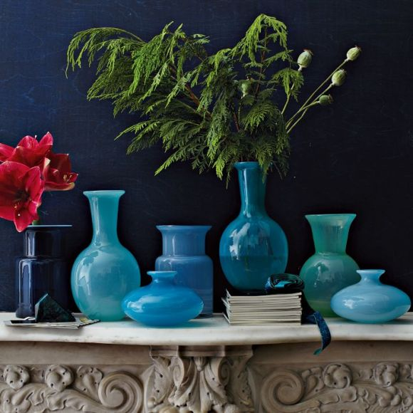 Flared Glass Vases - West Elm
